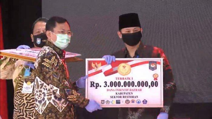 Trenggalek Sabet 4 Penghargaan Inovasi Daerah dalam Tatanan Baru, Bawa Pulang Hadiah Rp 10 Miliar