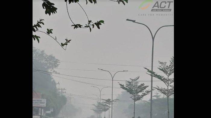 Kabut Asap Kembali Papar Kota Jambi, ACT akan Buat Posko Rumah Oksigen