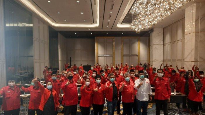 PDI Perjuangan Pastikan Seluruh Kader Solid Menangkan Eri-Armuji dengan Kampanye Positif