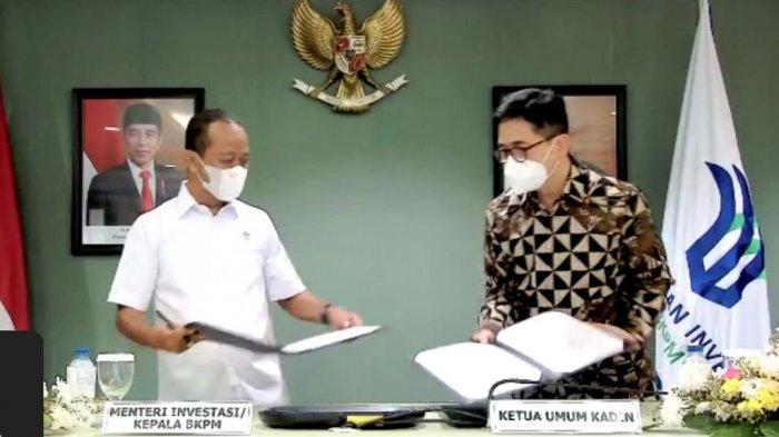 Perluas Lapangan Kerja, Kadin Indonesia dan BKPM Teken Kerjasama Penanaman Modal