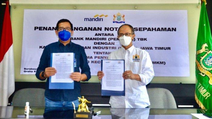 Beri pendampingan UMKM pasca pandemi, Kadin Jatim gandeng Bank Mandiri