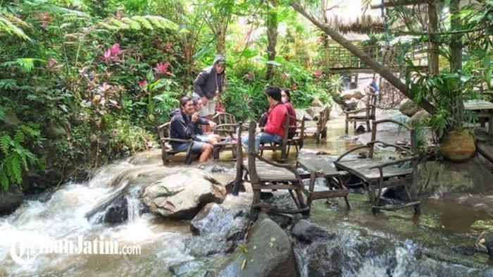 Coban Jahe Tawarkan Kafe Ketjeh, Berkonsep Nongkrong di Sungai, Dongkrak Kunjungan Saat Pandemi