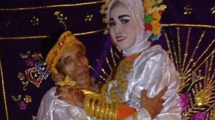 Kakek Bujang Lapuk Usia 58 Nikahi Gadis Umur 19, Ternyata Ada Hubungan Keluarga, Mahar Sederhana