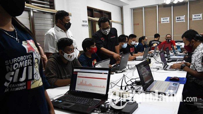 Kawal Kemenangan Eri Cahyadi-Armuji di Pilkada Surabaya 2020, PDI Perjuangan Siapkan War Room