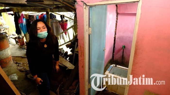 Jalan Retak di Kota Batu Diperbaiki, 14 Pedagang 'Rihat', Dapat Bantuan Sembako Lurah Songgokerto