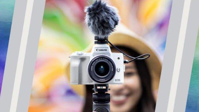 Canon EOS M50 Mark II Jadi Kamera Mirrorless yang Praktis untuk Hasilkan Foto dan Video Berkualitas