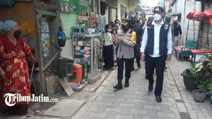 Hapus Stigma 'Sarang Narkotika Surabaya', Jalan Kunti Dijadikan Kampung Tangguh Bersih Narkoba