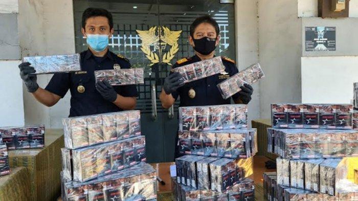 Peredaran Ratusan Rokok Ilegal Digagalkan Bea Cukai Gresik, Diduga Sempat Kelabuhi Petugas PPKM