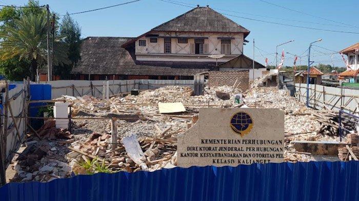 Mengalir Dana Miliaran APBN Tahun 2021 Rehab Gedung Kantor KSOP Kalianget Sumenep Saat Pandemi