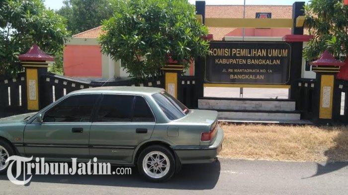 Satu Staf Positif Covid-19, Kantor KPU Bangkalan Tutup Selama Dua Minggu