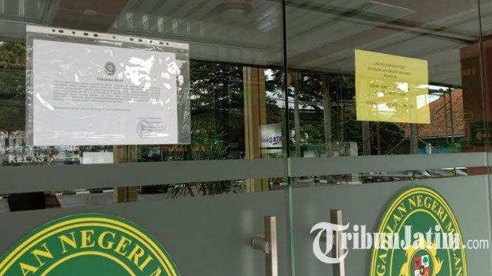 Lagi-lagi Kantor Pengadilan Negeri Malang Lakukan Lockdown, 2 Pegawai Positif Covid-19 Jadi Sebab