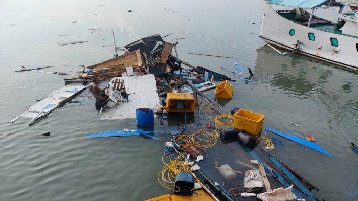 Tabung Gas Meledak, Perahu Nelayan di Pulau Raas Hancur, 4 Orang Luka Mengenaskan