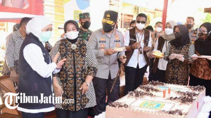 Kapolda Irjen Pol Nico Afinta Beri Kado Serbuan Vaksinasi Covid-19 untuk Almamater SMAN 2 Surabaya