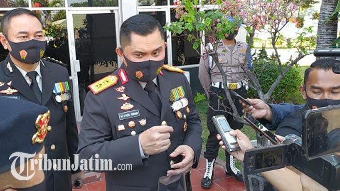 Warga Jatim Digerojok 2 Juta Masker Gratis, Kapolda Jatim: Wes Yo, Gawe Masker Biar Sehat