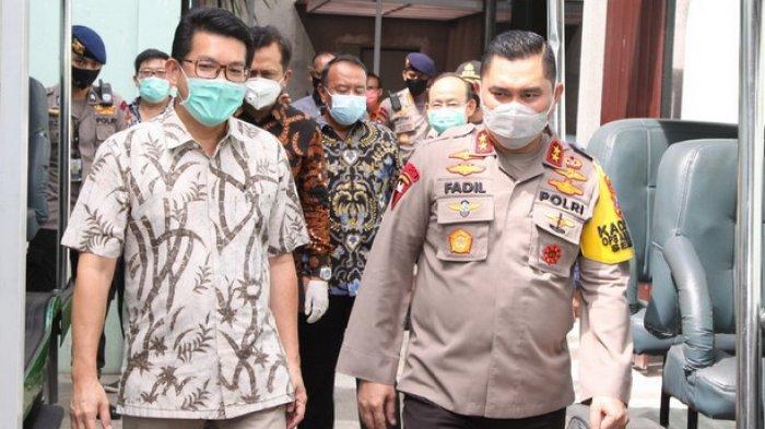 Kapolda Jatim Sidak Kawasan Industri, Pastikan Pelaksanaan Protokol Kesehatan saat Pandemi Covid-19