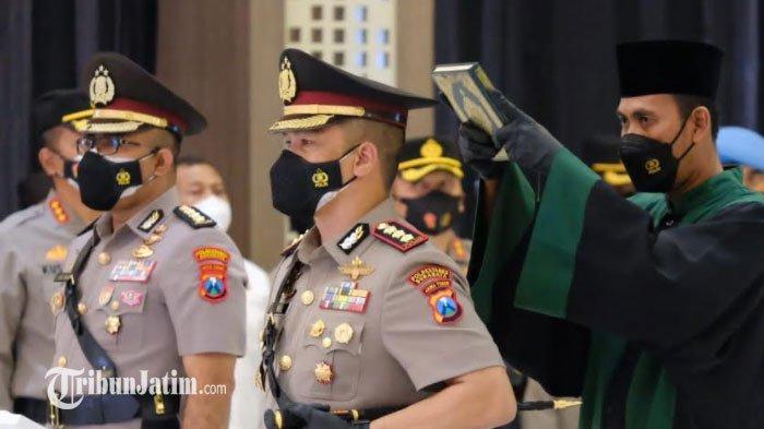 7 Pejabat Baru Polda Jatim Resmi Dilantik, Jenderal Nico Beri Wejangan: Adaptasi Wilayah Secepatnya