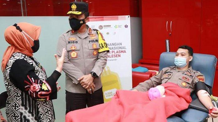 120 Personil Polda Jatim Sudah Donor Plasma Konvalesen, Optimis Jawa Timur Aman dan Sehat