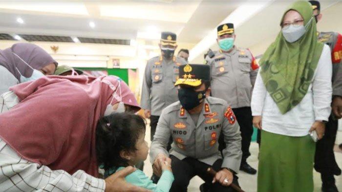 Pantau Vaksinasi 10.000 Dosis di 3 Lokasi Ponorogo, Kapolda Jatim: Ayo Rek Vaksin Kabeh