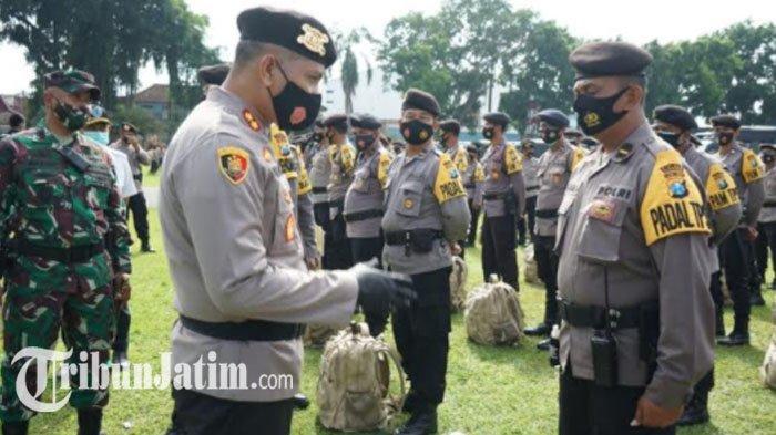 Pilkada Serentak 2020, Polres Blitar Kota Terjunkan 760 Personel Gabungan untuk Pengamanan