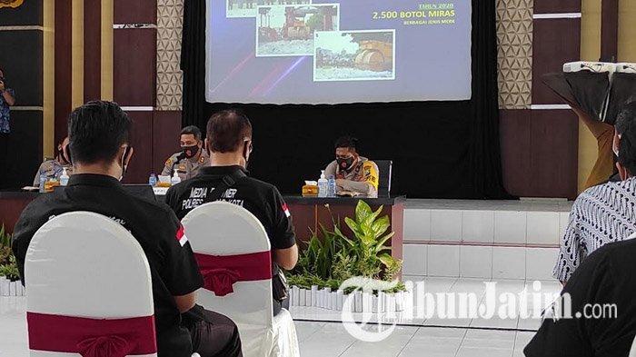 Kasus Kriminal dan Narkoba di Polres Blitar Kota Meningkat di Masa Pandemi Covid-19