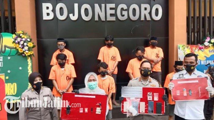 Meski Kasus Narkoba di Bojonegoro Turun, Jumlah Ganja dan Ekstasi yang Diamankan Meningkat di 2020