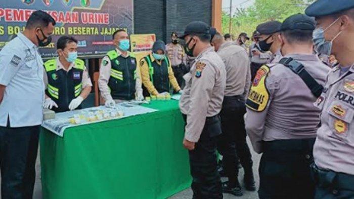 Anggota Polres Bojonegoro Dites Urine Dadakan, Kapolres: Siapa Mencicipi Narkoba, Karirnya Tamat