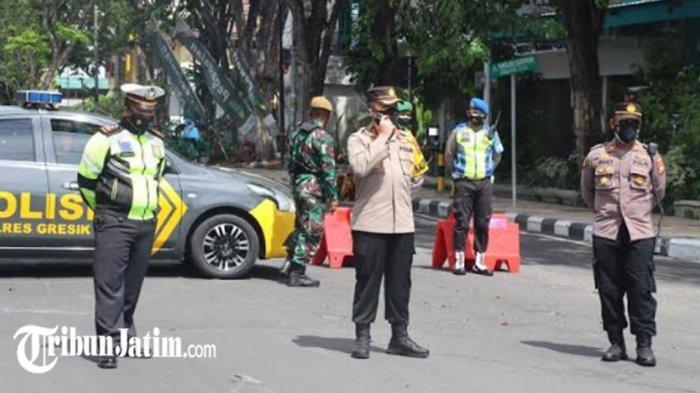 Ribuan Kendaraan Diputar Balik di Kabupaten Gresik, Tak Bisa Tunjukkan Surat Keperluan PPKM Darurat