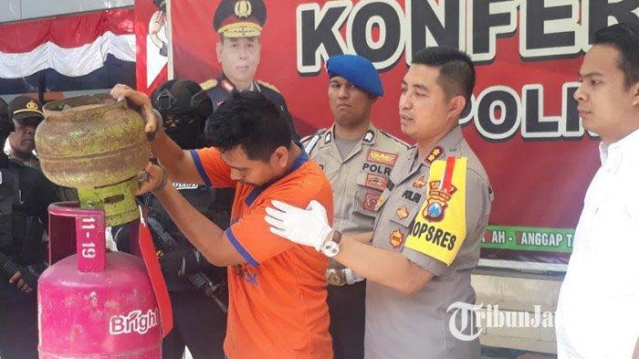Berdalih untuk Biaya Nikah, Pemuda Asal Surabaya Nekat Mengoplos LPG Bersubsidi, Dapat Untung 6 Juta