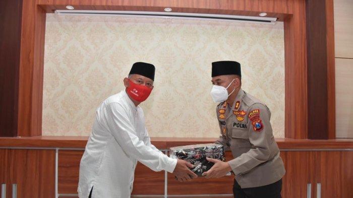 Kulo Nuwun ke PC NU Lamongan, Kapolres AKBP Miko Indrayana Dapat Banyak Masukan