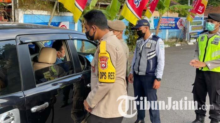 Operasi Ketupat Semeru 2021 Berakhir, Polres Lumajang Tetap Sekat Perjalanan Luar Kota Hingga 23 Mei