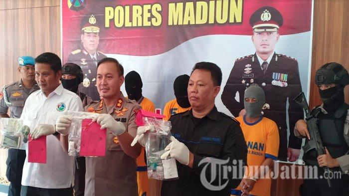 Hobi Tenggak Sabu Sejak 3 Bulan Lalu Buat Dongkrak Stamina, Tukang Cukur Asal Madiun Dikeler Polisi
