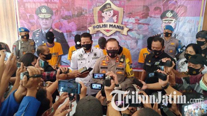 Polisi Madiun Sita 25 Ribu Butir Pil Double L dari 4 Tersangka, Salah Satunya Jaringan Lapas Jombang