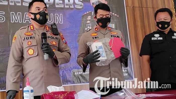 Pencuri di Bawah Umur Diringkus Polres Madiun, 7 Kali Gondol Ponsel dan Rokok di Beberapa Daerah
