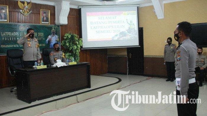 Polres Mojokerto Kota Fokus Pengamanan dan Penegakan Protokol Kesehatan Saat Natal & Tahun Baru 2021