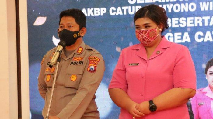 AKBP Catur Cahyono Resmi Jabat Kapolres Ponorogo Gantikan AKBP Mochamad Nur Azis