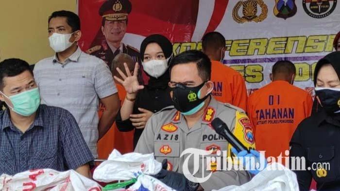 PPKM Mikro di Ponorogo Diperpanjang, Polisi Setel Kencang Penerapan Protokol Kesehatan Covid-19