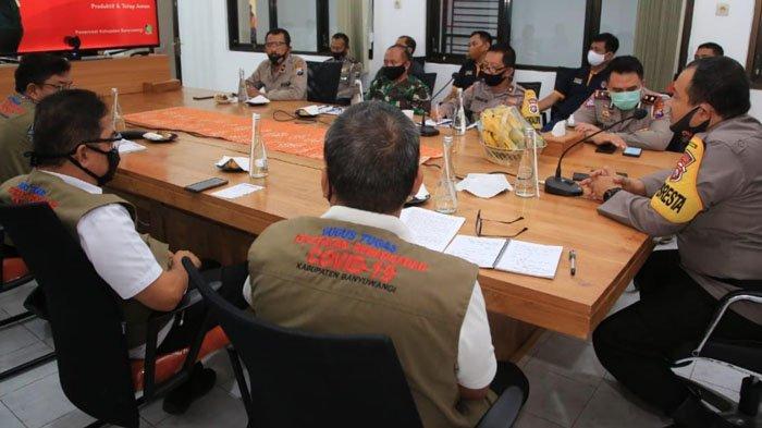 Gugus Tugas Covid-19 Banyuwangi akan Kembali Gelar Patroli Skala Besar untuk Disiplinkan Warga