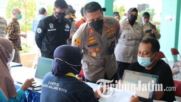 Gandeng PWI dan IBU, Polresta Malang Kota Kebut Vaksinasi Covid-19 untuk Mahasiswa