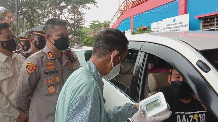 Polresta Malang Kota Gelar Vaksinasi Drive Thru, 50 Dosis Vaksin Sinovac Disiapkan untuk Masyarakat