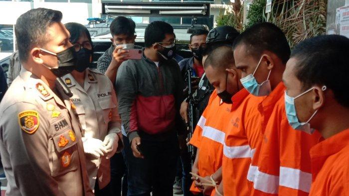 Satreskrim Polresta Malang Kota Tangkap Lima Tersangka Pengeroyok Mahasiswa