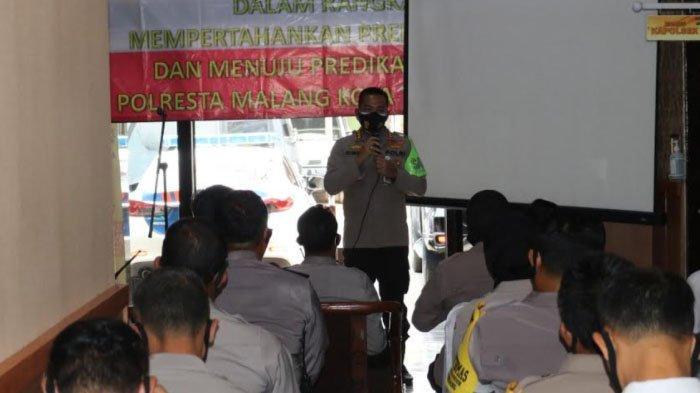 Polresta Malang Kota Gelar Roadshow Zona Integritas WBK Dan WBBM