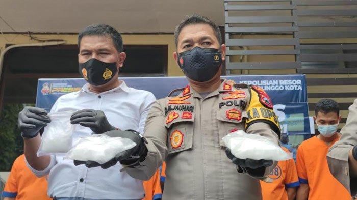 Operasi Tumpas Semeru 2021, Polresta Probolinggo Ringkus 11 Tersangka Kasus Narkotika