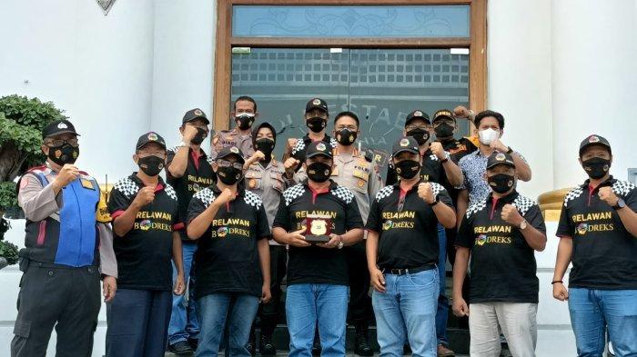 Relawan Bodreks RMB, Dapat Apresiasi dari Kapolrestabes Surabaya, Berharap Diikuti Wilayah Lainnya