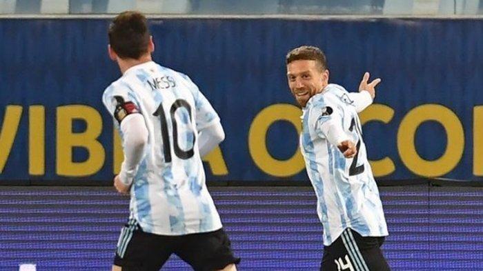 TERPOPULER BOLA: Update Klasemen Copa America 2021 - Hasil Bolivia Vs Argentina, Messi Cetak 2 Gol