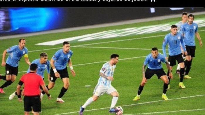 Hasil Kualifikasi Piala Dunia 2022: Beda Nasib Brasil dan Argentina, Messi Nyekor, Neymar Gigit Jari