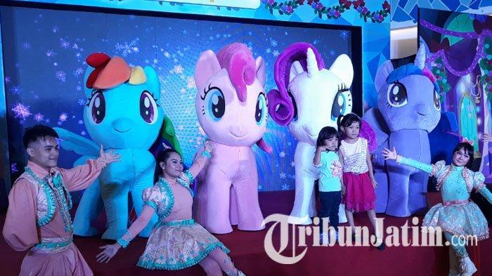 Libur Natal Dan Tahun Baru Lenmarc Mall Surabaya Hadirkan Dance Bersama Karakter My Little Pony Tribun Jatim