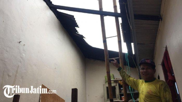Tak Sampai 10 Menit, Angin Puting Beliung Rusak Puluhan Rumah di Lumajang, Warga Teriak 'Ya Allah'