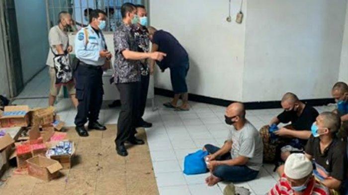 Karutan Medaeng Tinjau Blok Karantina Tahanan Baru, Ingatkan: Kebersihan Tanggung Jawab Bersama