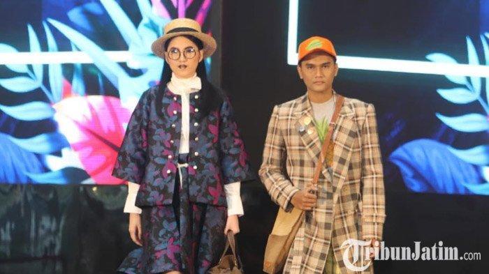 VIDEO: Menengok Busana Traveling Berdesain Floral Print Rancangan Ai Syarif di Surabaya Fashion Week