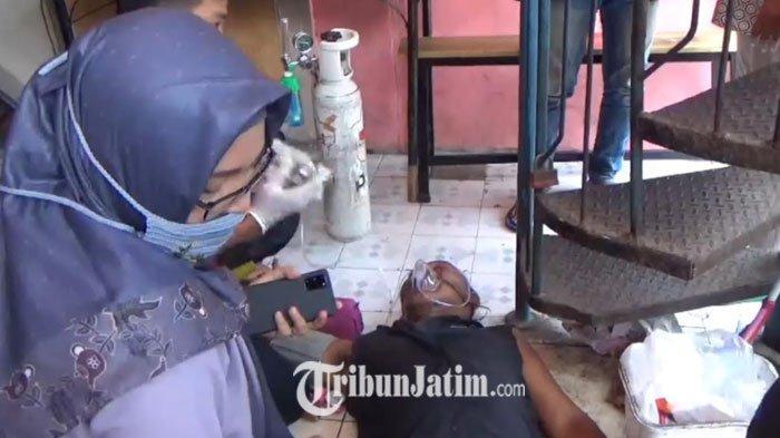 Kebakaran Cafe di Wonokromo Surabaya, Seorang Karyawan Sesak Nafas